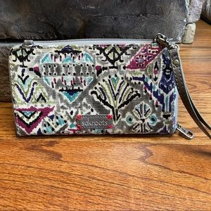 Sakroots Wallet Crossbody Clutch